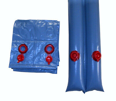 Swimming Pool Winter Cover 8 ft Double Water Tubes 5 Pack