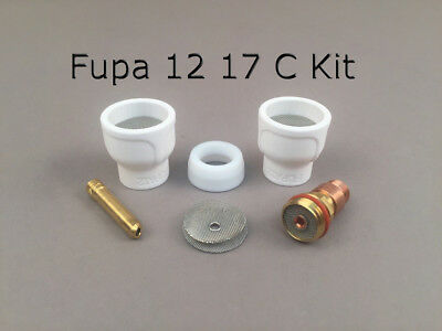 FUPA 12 Ceramic Kit fits 17, 26 series AC torches 18 series WC torch