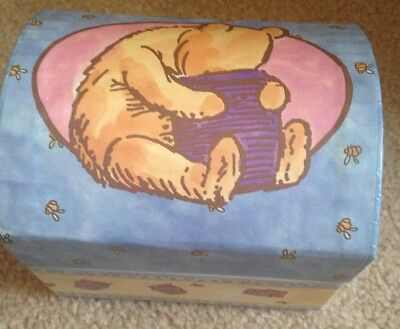 Classic Winnie the Pooh Bear Jewerly Box with Cover by Tri Coastal Design Boxes