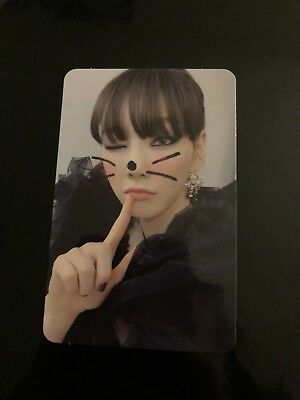 SNSD Taeyeon Official Photocard—My Voice MAKE ME LOVE YOU Photocard