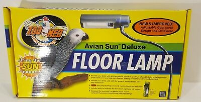 Avian sun deluxe floor lamp 4399 picclick zoo med laboratories avian sun deluxe floor lamp save your birds item afl aloadofball Images