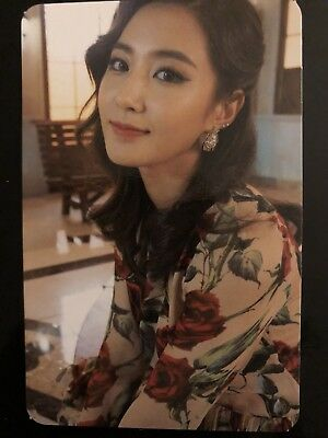 SNSD Yuri Official Photocard-Lion heart Photocard