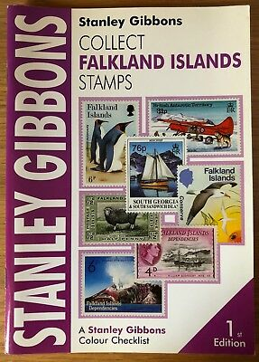 STANLEY GIBBONS Colour Checklist - Falkland Islands Stamps - 1st Edition
