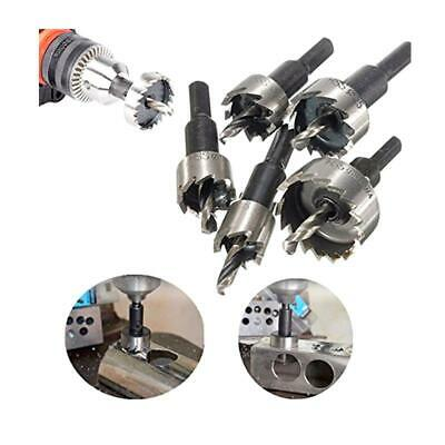 5PCS Hole Saw Tooth Kit HSS Steel Drill Bit Cutter Tool For Metal Wood Alloy LIN