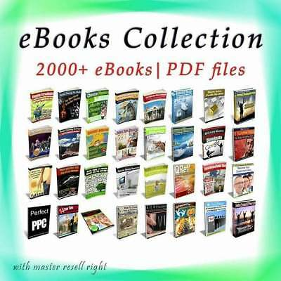Ebooks 2000 Collection Package ebook-pdf 6 GB With Master Resell Rights!!