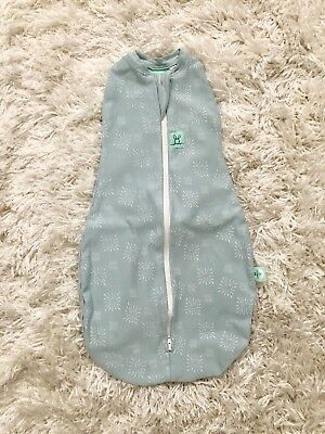 Ergopouch Organic Cotton Baby Sleeping Bag Age 0-3 Month 1 Tog