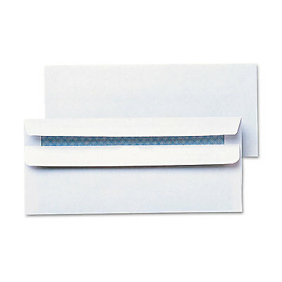 UNIVERSAL Self-Seal Business Envelope Security Tint #10 4 1/8 x 9 1/2 White 500