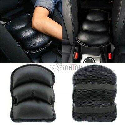 Car SUV Durable Center Console Box Black PU Armrest Soft Cushion Pad Cover Mat