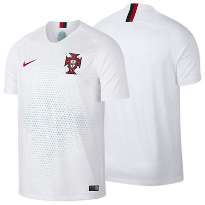 5601d5e968645 Nike 2018 PORTUGAL Away White World Cup Soccer Jersey Football Shirt 893876  Sz L