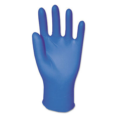 Boardwalk Disposable Examination Nitrile Gloves Medium Blue 5 mil 100/Box 382MBX