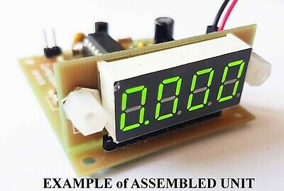 Simplest and Small Frequency Counter 200Hz..8 MHz. KIT DiY.