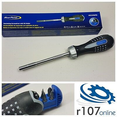 Blue Point Ratchet Screwdriver with Bits, Incl. VAT. As sold by Snap On.