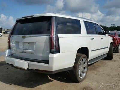 Cadillac Escalade Luxury Collection 2016 Luxury Collection Used 6.2L V8 16V Automatic 4WD SUV Bose Premium OnStar