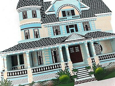 shelia's collectibles houses Queen Anne Mansion 1891: Eureka Spring Arkansas