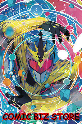 Mighty Morphin Power Rangers Shattered Grid #1 (2018) Scarce 1:25 Variant Cover