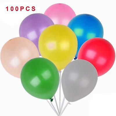 Ankeyqueen Balloons 12 Inches Assorted Color Party Balloons For Birthday Part...