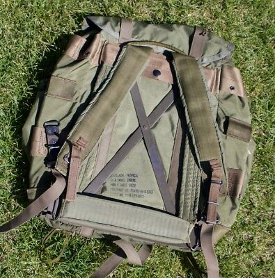 M67 rucksack back pack tropical X-Frame great condition complete Estate sale