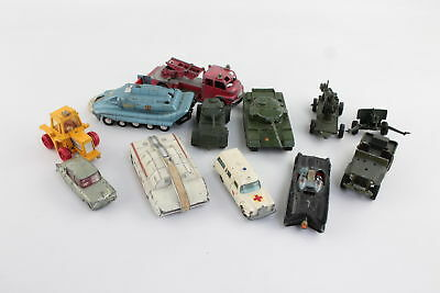 12 x Vintage Die-Cast Toy Models Inc. Dinky, Corgi, Matchbox & Lone Star
