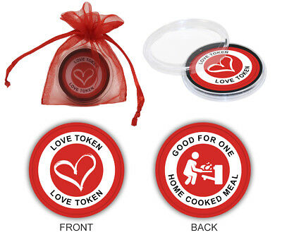 Love Token for husband, boyfriend, wife, girlfriend. Gag gift : Home Cooked Meal