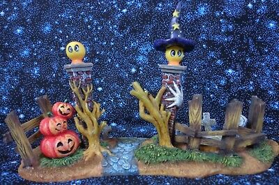 O'Well Halloween Village Haunted Graveyard Fence ~ FREE SHIPPING