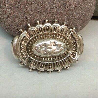 Solid Silver 1900's Small Brooch