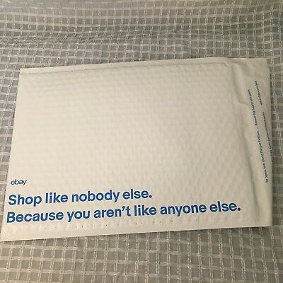 """(18) eBay-Branded Padded Airjacket Bubble Envelopes Mailers 9.5"""" x 13.25"""" NEW"""