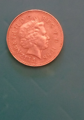 1998  CIRCULATED  £1 ONE POUND COIN  VERY RARE  COAT~of~ARMS   NOT RELEASED