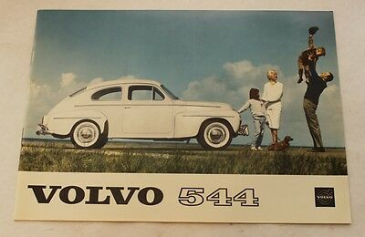 VOLVO PV 544 orig 1961 USA Mkt Sales Brochure MINT