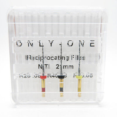 ONLY-ONE Reciprocating Files NiTi R25.08 R40.06 R50.05 Dental Endo Rotary Drills