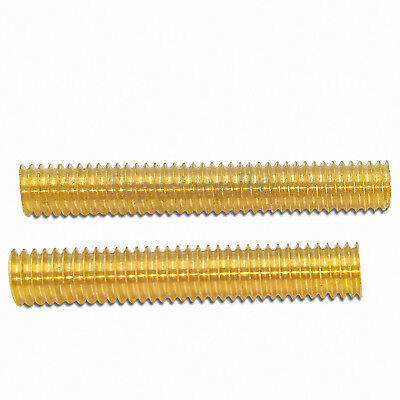 SOLID BRASS FULLY Threaded Rod/Bar/Studding/Allthread  M2 5,3,4,5,6,8,10,12,16,20