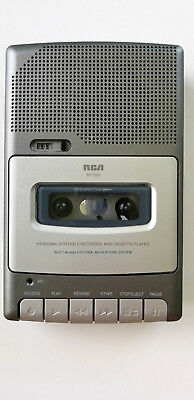 RCA RP3503A Personal Portable Recorder and Cassette Player