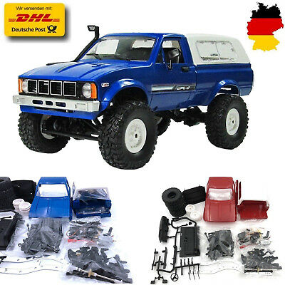 1:16 WPL C24 2.4G RC Crawler Auto DIY Spielzeug Assemble Vehicle Toy Racer Truck
