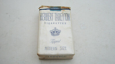 Sealed Vintage Pack of HERBERT TAREYTON Cigarettes Series 125 from 1955