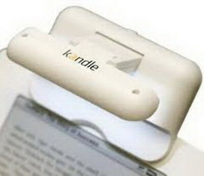 Kandle LED Reading Light Designed for Books and E-readers, White with 5 battery