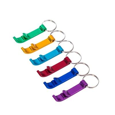 5Pcs Hot Bottle Opener Key Ring Chain Keyring Keychain Metal Beer Bar best