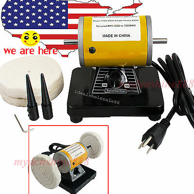 UPS SALE Dental MINI   Motor 3000rpm  Polishing Machine bench Lathe TYPE AAA