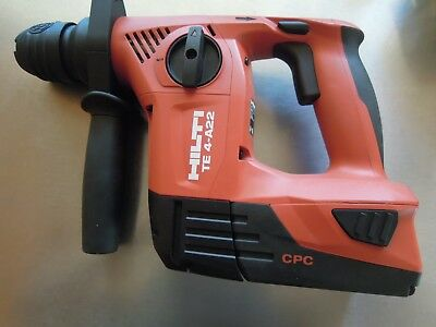 HIlti TE 4-A22 Rotary Hammer Drill with battery New