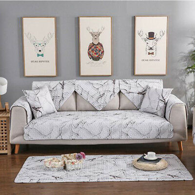 Furniture Protector Quilted Sofa settee Arm Chair Cover Throw Pet Slip Cover Set