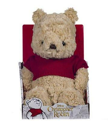 NEW Official Disney Christopher Robin Winnie the Pooh Soft Toy - 25cm