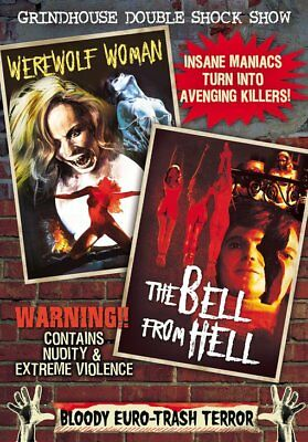 Grindhouse Double Shock Show: Werewolf Woman (1976) / Bell from Hell NEW DVD