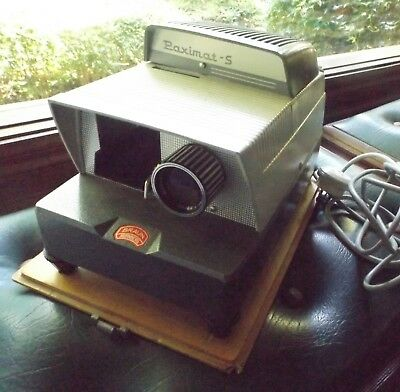 Paximat-S Slide Projector By Braun Nurnberg Working Condition I Will Post