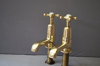 Old Bath Taps Antique Brass Bathroom Taps Stunning Reclaimed & Fully Refurbished