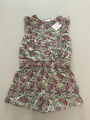 NEXT girls Floral Playsuit 3-4 Years BNWT
