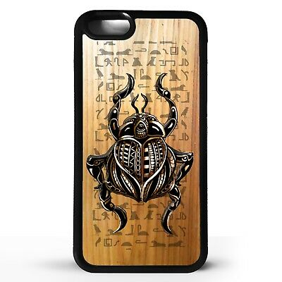 Ancient Egyptian Beetle hieroglyphic scarab beetle pattern art phone case cover