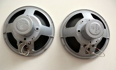 EXELLENT CONDITION PAIR OF SIEMENS KLANGFILM SPEAKER 14g   WITH PHENOLIC SPIDER