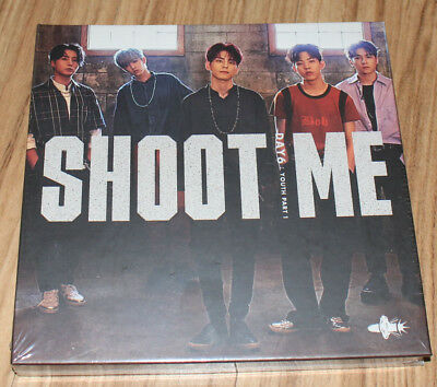 DAY6 Shoot Me Youth Part 1 Bullet Ver. CD + 2 PHOTO CARD + POSTER IN TUBE CASE