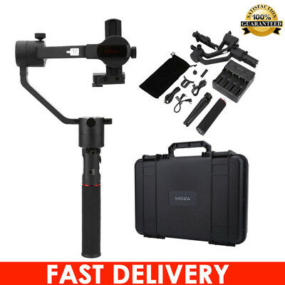 Aluminum  Moza Aircross 360° 3-Axis Handheld Stabilizer Photography for DSLR Cam