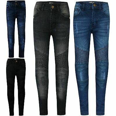 Kids' Clothes, Shoes & Accs. Jeans Kids Boys Stretchy Jeans Ripped Denim Skinny Jeans Pants Trousers Age 5-13 Years