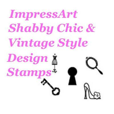 ImpressArt Shabby Chic Theme Metal Stamp Punches Stamping Tools Choose Design