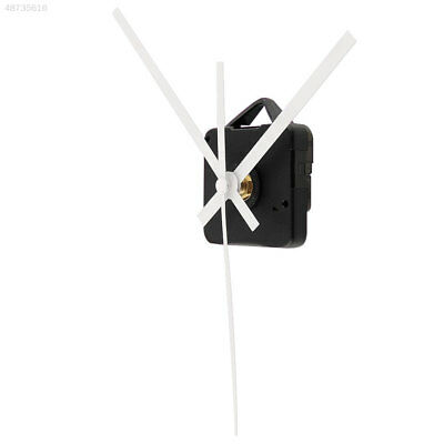 Quartz Wall Clock Movement Mechanism DIY Repair Parts Kit White Long Shaft